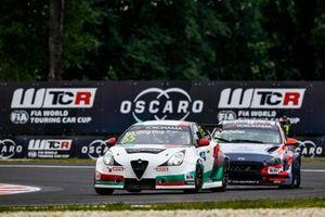 Ma Qing Hua, Team Mulsanne Alfa Romeo Giulietta TCR, Norbert Michelisz, BRC Hyundai N Squadra Corse Hyundai i30 N TCR