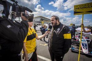 Benoit Nogier, commercial director Renault Sport Racing