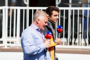 Johnny Herbert, Sky TV e Lando Norris, McLaren