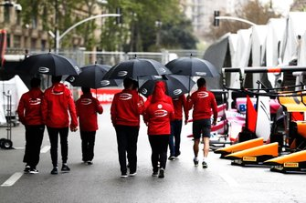 Sean Gelael, PREMA RACING y Mick Schumacher, PREMA RACING