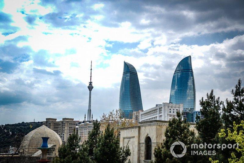 La skyline de Bakou