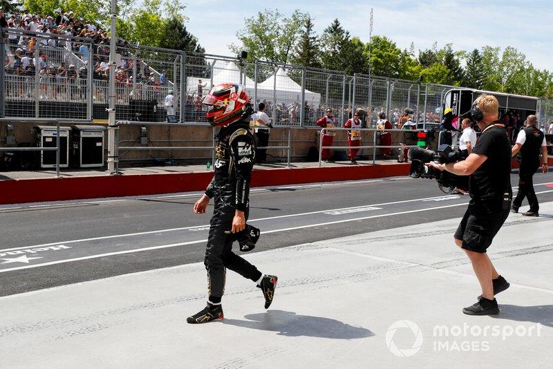 Kevin Magnussen, Haas F1 después del choque