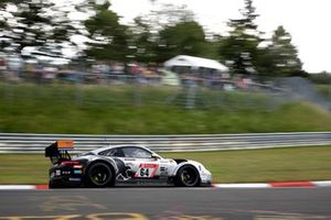 #64 Black Falcon Team Textar Posche GT3 Cup MR: Peter Ludwig, Maik Rosenberg, P. Takis Spiliopoulos, Dennis Trebing