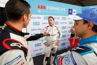 Sébastien Buemi, Nissan e.Dams, Robin Frijns, Envision Virgin Racing, Felipe Massa, Venturi Formula E