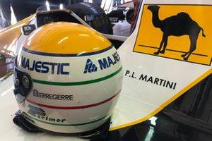 Il casco di Pier Luigi Martini