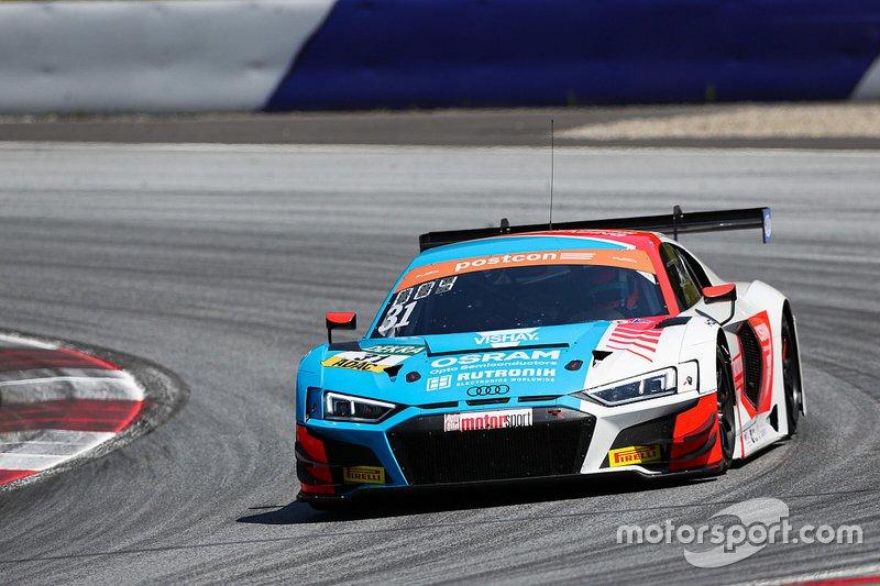 Patric Niederhauser, Kevin van der Linde, Audi R8 LMS GT3, HCB-Rutronik-Racing