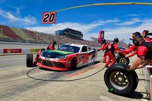 Christopher Bell, Joe Gibbs Racing, Toyota Supra Rheem / RTP pit stop, Sunoco