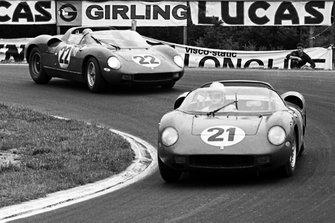Ludovico Scarfiotti, Lorenzo Bandini, Ferrari 250P, Mike Parkes, Umberto Maglioli, Ferrari 250P