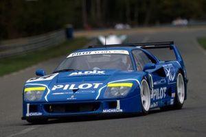#34 Ferrari F40 LM: Michel Ferté, Olivier Thevenin