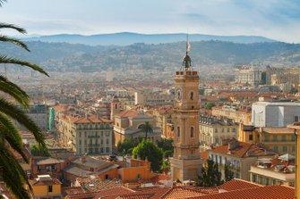 Nice - De iconische klokkentoren in het oude centrum