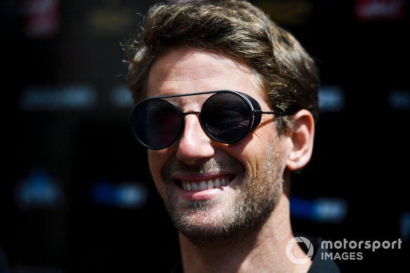 Romain Grosjean, Haas F1 parla ai media