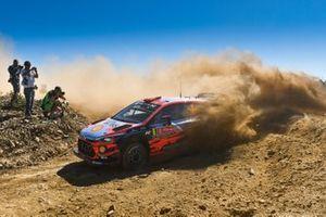 Dani Sordo, Carlos Del Barrio, Hyundai Motorsport, Hyundai i20 Coupe WRC 2019