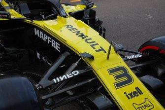 Renault F1 Team front detail