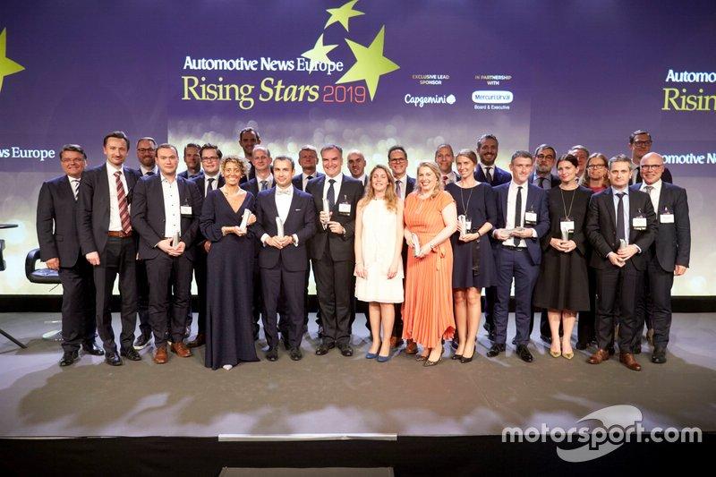 """Valentina Temporelli, Customer Relationship Marketing Director Global Key Account Automotive di Schaeffler, premiata fra le """"Rising Stars"""" del periodico """"Automotive News Europe"""" a Göteborg il 21 maggio 2019"""