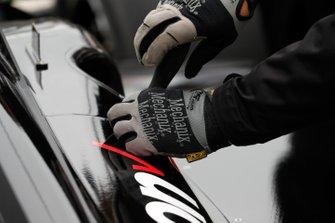 Will Power, Team Penske Chevrolet, mechanic