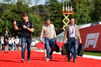 Max Verstappen, Red Bull Racing et Jos Verstappen