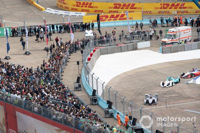 Edoardo Mortara, Venturi Formula E, Venturi VFE05, Oliver Turvey, NIO Formula E Team, NIO Sport 004, Jérôme d'Ambrosio, Mahindra Racing, M5 Electro