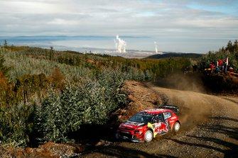 Sébastien Ogier, Julien Ingrassia, Citroën World Rally Team Citroën C3 WRC