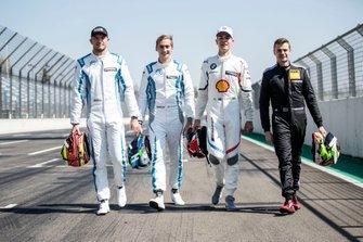 Rookies, Jake Dennis, R-Motorsport, Ferdinand Habsburg, R-Motorsport, Shelton van der Linde, BMW Team RBM, Jonathan Aberdein, Audi Sport Team WRT