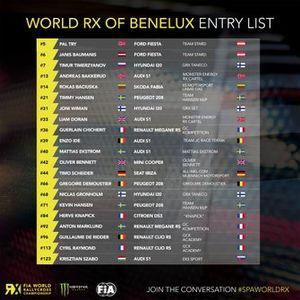 List WorldRX of Benelux
