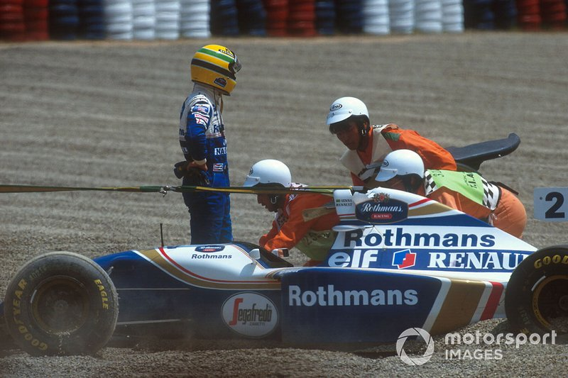 Ayrton Senna, Williams fuera de la pista