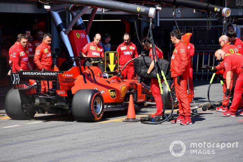 Baku: Charles Leclerc (Ferrari)
