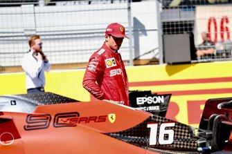Charles Leclerc, Ferrari, na de kwalificatie