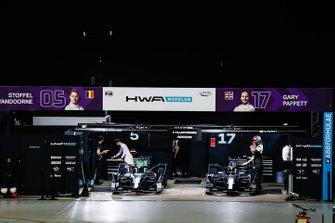 Гараж HWA Racelab
