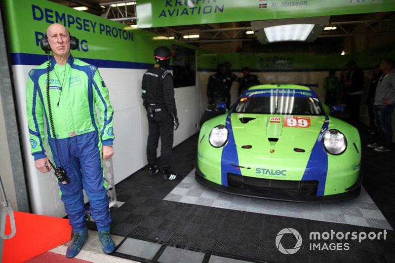 #99 Dempsey Proton, Porsche 911 RSR: Tracy Krohn