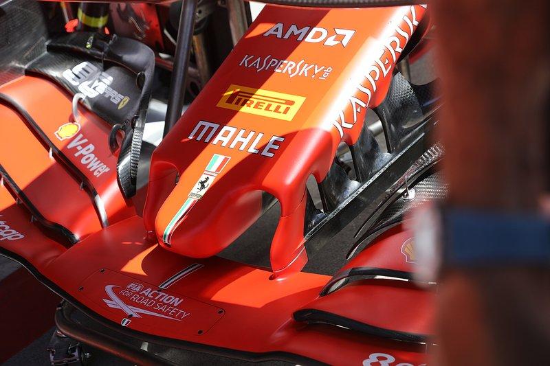 Носовой обтекатель Ferrari SF90