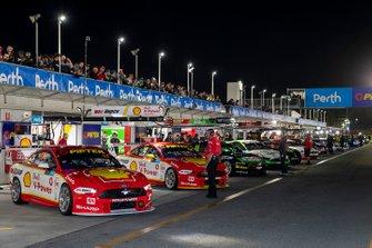 Pitlane car lineup