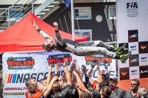 Nicolo Rocca Celebrates Win