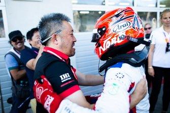 Ganador de la carrera Nobuharu Matsushita, Carlin