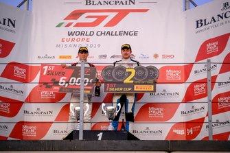 Podium Silver: #90 Akka ASP Team Mercedes-AMG GT3: Timur Bogulavskiy, Fabian Schiller