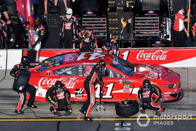 Daniel Suarez, Stewart-Haas Racing, Ford Mustang Coca-Cola