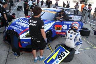 #56 リアライズ 日産自動車大学校 GT-R