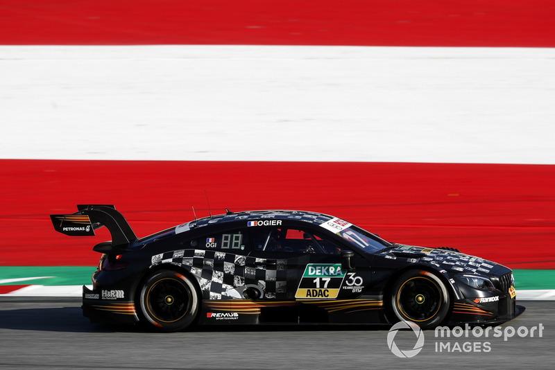 Auch auf der Rundstrecke fühlt Ogier sich wohl. Nach Gaststarts unter anderem im GT-Masters und Porsche-Supercup erfüllt sich der Franzose im September 2018 mit einem DTM-Start für Mercedes einen Traum.