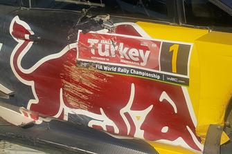 Dettaglio dell'auto di Sébastien Ogier, Julien Ingrassia, Ford Fiesta WRC, M-Sport