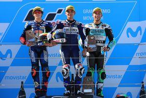 Marco Bezzecchi, Prustel GP, Jorge Martin, Del Conca Gresini Racing Moto3, Enea Bastianini, Leopard Racing