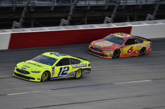 Ryan Blaney, Team Penske, Ford Fusion Menards/Duracell e Matt Kenseth, Roush Fenway Racing, Ford Fusion Oscar Mayer