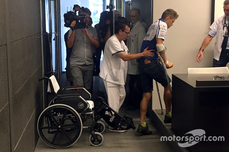 Tito Rabat, Avintia Racing at hospital