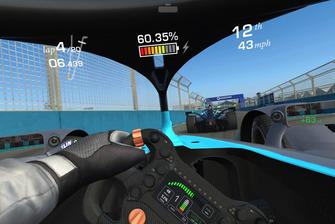 Screenshot on board Formula E Gen 2