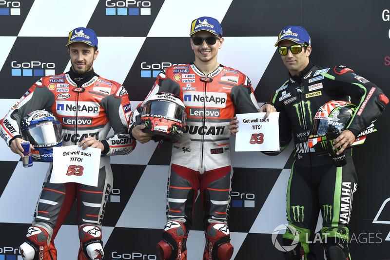 Хорхе Лоренсо, Ducati Team, поул-позиція на Гран Прі Великої Британії