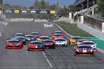 partenza gara 2 Trofeo Pirelli