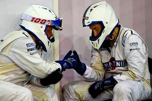 Williams pit crew