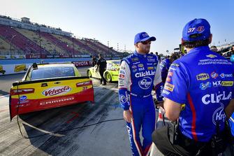 Chris Buescher, JTG Daugherty Racing, Chevrolet Camaro Velveeta, Trent Owens