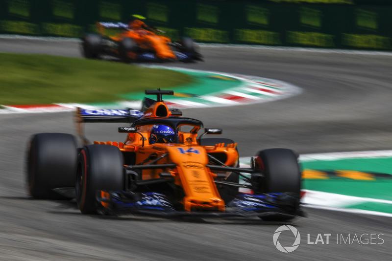 Ausfall: Fernando Alonso, McLaren MCL33
