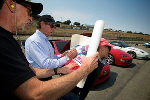 Monterey Motorsports Reunion atmosphere