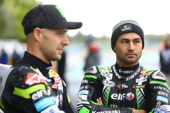 Leon Haslam, Kawasaki Racing Team, Jonathan Rea, Kawasaki Racing Team