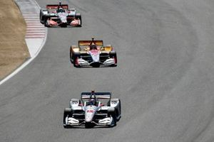 Will Power, Team Penske Chevrolet, Ryan Hunter-Reay, Andretti Autosport Honda, Santino Ferrucci, Dale Coyne Racing Honda